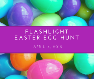 Flashlight Easter Egg Hunt